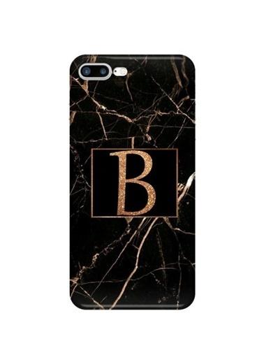 People's Cover iPhone 7 Plus Baskılı Harfli Telefon Kılıfı Renkli